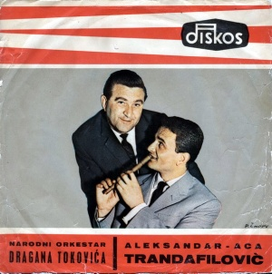 Toković y su orquesta, con Trandafilović