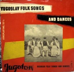 Coros y danzas yugoslavos