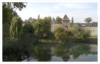 El Vrbas a su paso por Banja Luka