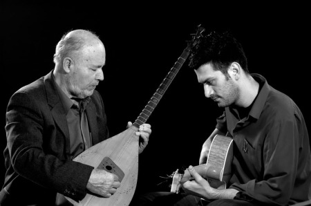With Hašim Muharemović, by Almin Zrno